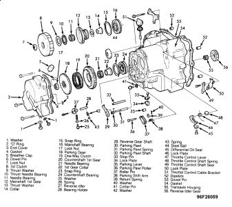 Honda Accord Transmission | Wiring Diagram