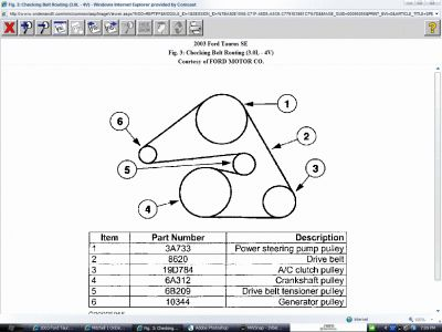 schematic 2003 mitsubishi montero schematic 2003 taurus 2003 ford taurus belt diagram: i am having a problem ...