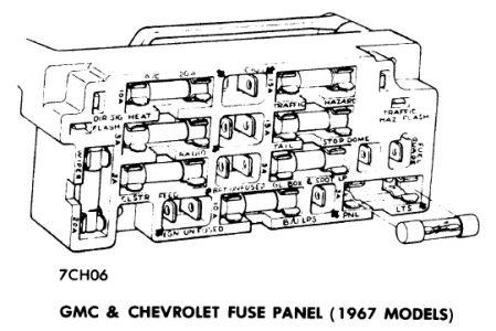 1967 chevrolet van fuse box 1967 chevy el camino flasher: 1967 chevy el camino where ... 1967 chevy van fuse box