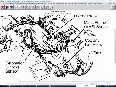 Pontiac Firebird 1986 Pontiac Firebird Cooling Fan on wiring diagram for car relay