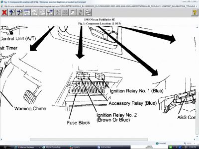Ford Bronco 2 Fuel Pump Diagrams