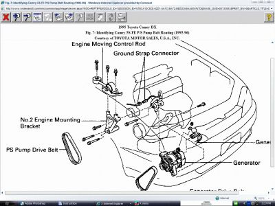Toyota 4runner Power Steering Pump Location on 94 toyota camry stereo wiring diagram