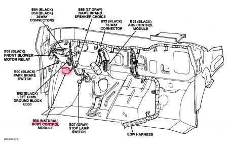 Jeep Liberty Transmission Tag Number Location moreover 2000 Chrysler 300m Body Control Module Location also Acura Cl 3 2 Fuel Relay also 2000 F 150 Vacuum Diagram together with 2013 Cadillac Cts Wiring Diagram. on wrangler airbag module location