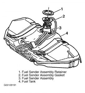 chevy cavalier fuel pump replacement chevy cavalier removal installation 2003 chevrolet cavalier page 1 of 2 warning to reduce the risk of fire and personal injury that result from a fuel leak