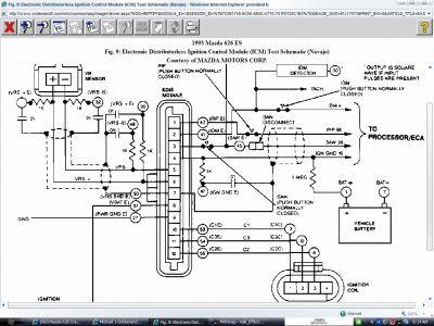 mazda 626 distributor wiring diagram  jlg 40h wiring