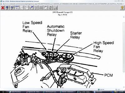1993 Plymouth Grand Voyager Instructions For A Ignition Switch Replacement additionally 2005 Buick Terraza Rear Differential Service Manual furthermore  on 1995 plymouth acclaim engine diagram html