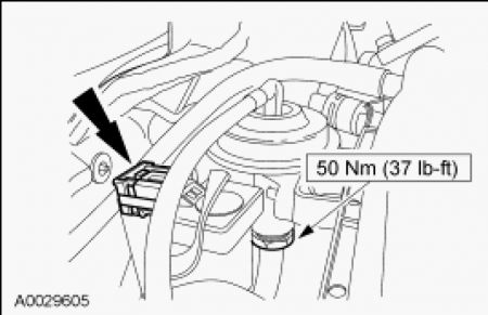 Egrtube on 2001 Ford Taurus Engine Diagram