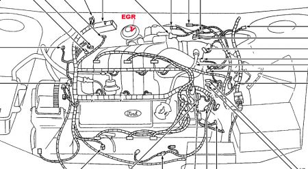 1998 ford taurus v6 engine diagram 1998 ford taurus engine diagram - wiring diagram #2