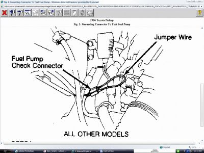 1986 Toyota Pickup Fuel Pump Relay Location Wiring Diagrams on 1991 ford truck fuse box html
