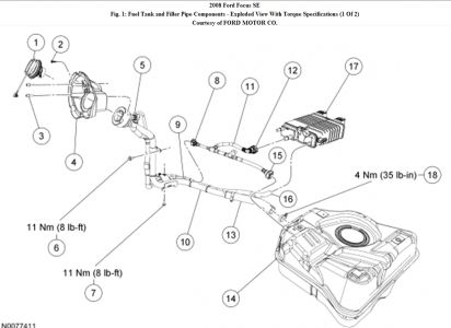2000 Ford Focus Emission System Diagram