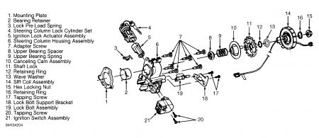 1996 pontiac grand am gt ignition diagram