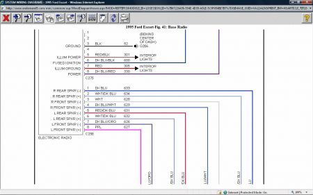 Radio Wiring Diagram: Electrical Problem 2000 Chevy ...