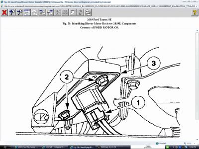 2003    Ford       Taurus       Air       Conditioning    and Heating System