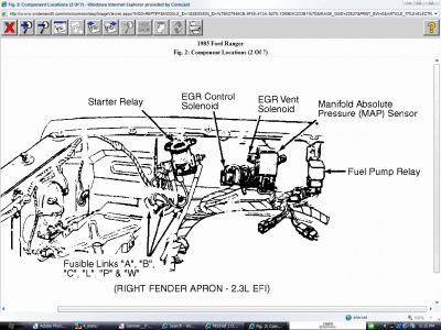1985 Ford Ranger Solenoid/starter: Installed a New Starter ...  Ranger Ignition Wiring Diagram on ford fuel pump wiring diagram, triton snowmobile trailer wiring diagram, msd distributor wiring diagram, 1980 toyota pickup wiring diagram, 96 mustang radio wiring diagram,