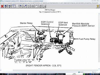 1985 Ford Ranger Solenoid Starter Installed A New Starter