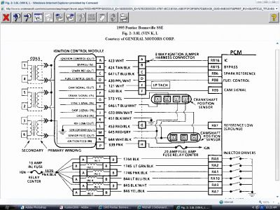1995 pontiac bonneville fuse box 1995 pontiac bonneville ignition coil pack: can someone ... wiring schematic for 1995 pontiac bonneville