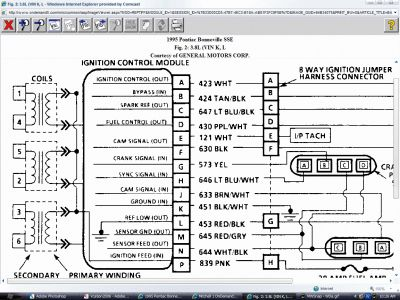 1995 pontiac bonneville ignition coil pack electrical