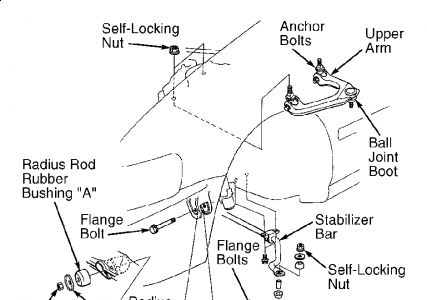 2001 Honda Accord Front End Diagram