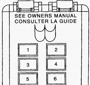 62217_box1_1 2001 ford taurus battery draining electrical problem 2001 ford 2001 ford taurus owners manual fuse box at bayanpartner.co