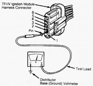 Ford E Series Van 1984 Ford E Series Van Distributor Pick Up Coil on wiring diagram