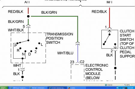 62217_nss_1 1989 isuzu trooper bypassing neutral safety switch (nss) 4l60e neutral safety switch wiring schematic at edmiracle.co