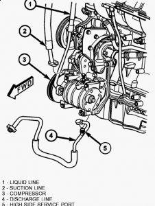 2003 Chrysler Pt Cruiser 2003 Cruiser A C Compressor Replac