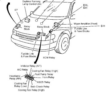 2009 Nissan Quest Engine Diagram