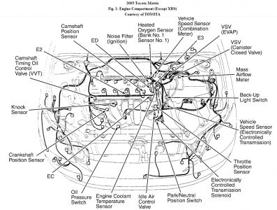 Toyota Matrix 2003 Toyota Matrix P0770 Code on 1999 toyota corolla parts diagram