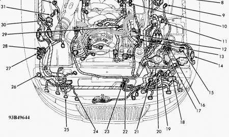 1993 Lincoln Mark VIII Driveability Problemengine Codes Fo – Lincoln Mark Viii Engine Diagram