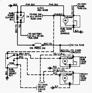 No Fuel to Carb: No Fuel or Very Little to Carb, Truck ... Voltage Gauge Wiring Ford Pickup on horn wiring, fuel sending unit wiring, ignition switch wiring, 6 volt generator wiring, tail light wiring,