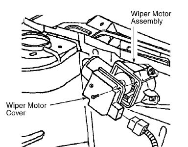windshield wipers do not work six cylinder front wheel drive 1 turn ignition switch to run position push washer switch if washer operates replace wiper motor if washer does not operate go to next step 2