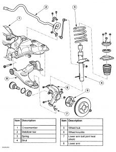 2010 ford escape front suspension 2002 ford f