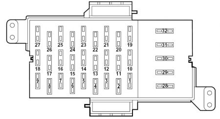 B F furthermore Mercury Grand Marquis Fuse Box Diagram Passenger  partment as well Cvgmqengfuses further Fuse Box Diagram Mercury Grand Marquis likewise Pic. on 2000 grand marquis fuse box diagram
