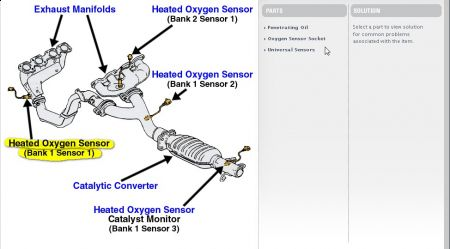 Miles Pageacura Forumacura Forums on toyota tundra oxygen sensor location