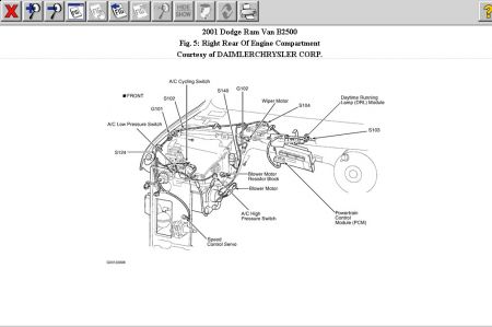 dodge caravan o2 sensor wiring diagram in addition 2001