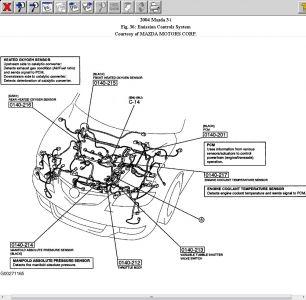 mazda rx8 coolant system diagram