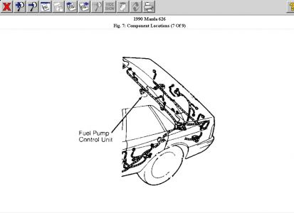 mazda 626 fuel pump location  mazda  free engine image for