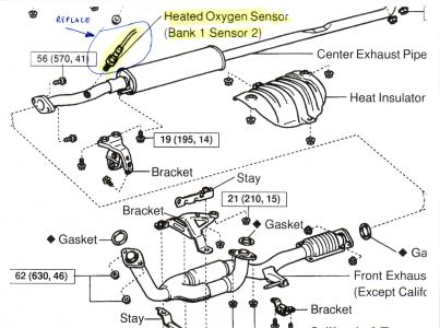 Toyota Avalon O2 Sensor Location on 2004 volvo xc90 fuse box diagram