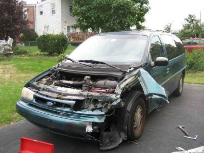 windstar wont start  airbag deployed   ford