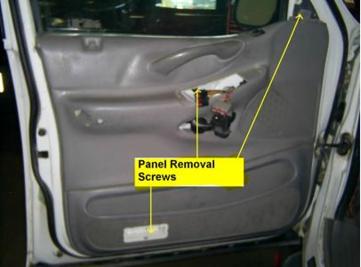 2000 Ford Expedition Door Panel Interior Problem 2000
