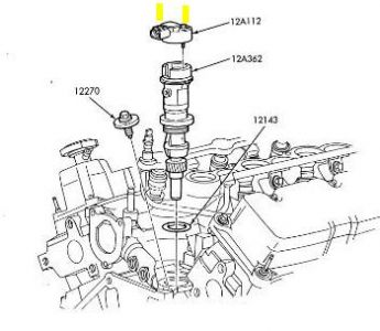 165466 Trying Locate Camshaft Position Sensor on ford 3 0 liter engine diagram