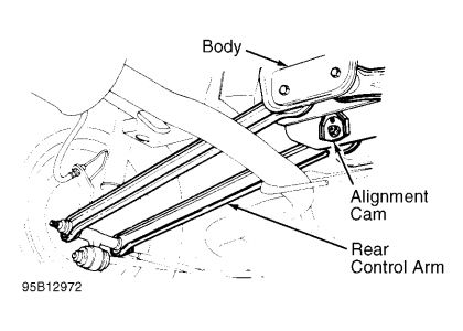 2000 Ford Taurus Rear Suspension Diagram
