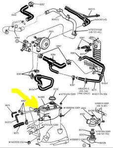 Capture on Buick Rendezvous Heater Hose Diagram