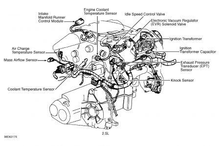 1999 Mercury Mystique DPFE: Engine Performance Problem 1999 ... | 1998 Mercury Mystique Engine Diagram |  | 2CarPros