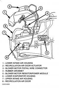 2001 dodge caravan heater motor works intermittently. Black Bedroom Furniture Sets. Home Design Ideas