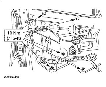 2002 ford explorer window regulator