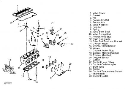 1994 Chevy Cavalier Cooling Diagram Schematic Wiring Diagram