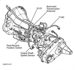 1999 dodge durango vehicle speed sensor  transmission