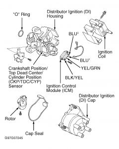 99387_Graphic1_55 1997 honda civic ignition problems, no spark electrical problem 99 honda civic spark plug wire diagram at creativeand.co