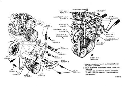 ford crown victoria engine diagram 1998 ford crown victoria engine belt diagram 1984 ford crown victoria drive belt change: noises problem ... #10